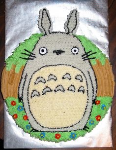 TOTORO CAKE?! I just lost my mind a little.