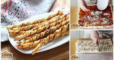 Italienisch snacken mit frisch gebackenen KÄSE-GRISSINI
