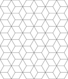 Free Tessellation Patterns to Print Block Tessellation ClipArt ETC Tessellation patterns Quilt patterns free Pattern blocks