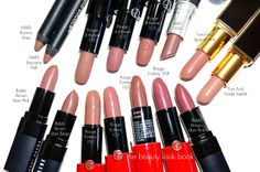 The Beauty Look Book: Giorgio Armani Rouge Ecstasy Comparisons for #100, #103, #105 and #508