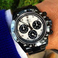 . Rolex Daytona, Back To Black, Watches, Wristwatches, Clocks