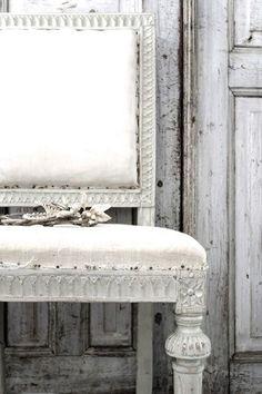white & worn with gray