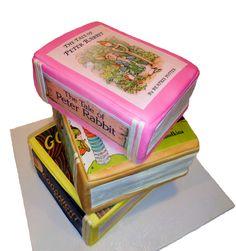 Baby Shower - Storybooks Baby Shower cake