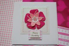 lovely handmade card using felt.