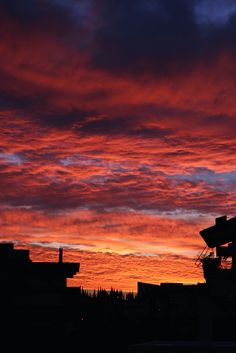 Morning sky by tgeorgakopoulos, via Flickr