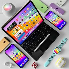 Cool New Gadgets, Tech Gadgets, Logitech, Mejores Series Tv, Ipod Touch Cases, Iphone Home Screen Layout, Phone Store, Apple Laptop, Apple Inc
