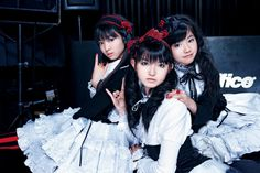 Petition for Babymetal to wear more white on stage, because it suits them. With a little more black, they could go for a dark angel theme, or something