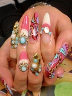 Latest Prom Nail Design Ideas 2016-2017 to Get a Perfect Look - StyleGlow.com