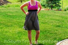 Its Sew for You: Color Block Dress Tutorial