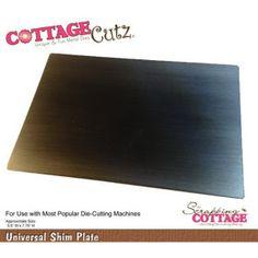 Cottage Cutz Universal Shim Plate Metal von Prell Versand auf DaWanda.com