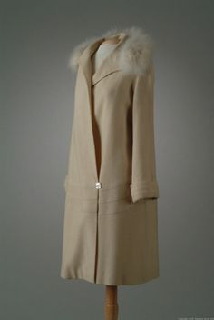 Coat, Peggy Hoyt, 1927 via The Meadow Brook Hall Historic Costume Collection