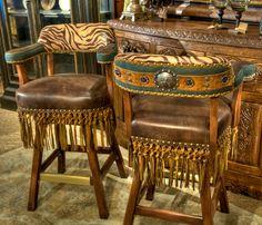 western home | Western Concho Barstool - Brumbaughs Fine Home Furnishings