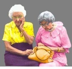 Cute Old Lady best friends - Bing Images