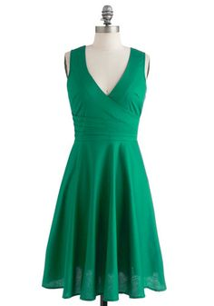 Beguiling Beauty Dress in Emerald, @ModCloth