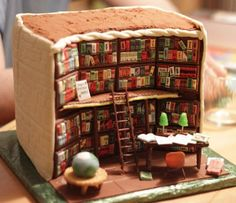 This utterly awesome cake designed to look like the inside of a public library will give you the perfect excuse to geek out over books. >> https://www.finedininglovers.com/blog/out-of-the-blue/library-cake-kathy-knaus/