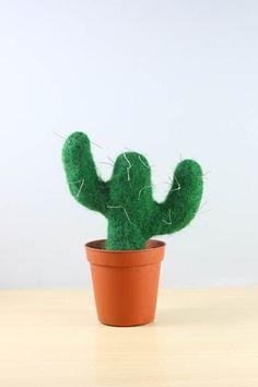 Needle Felt Cactus D