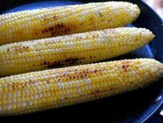 Simple Pan-Seared or Grilled Corn.