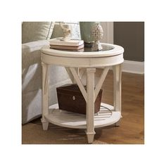 Hammary Gray Promenade End Table | Wayfair
