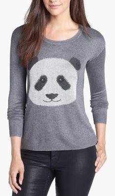 Panda Face! https://www.facebook.com/WeLoveWool