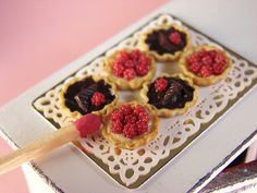 Miniature Food - Tiny Tiny Tarts