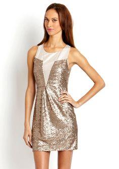 ARK & CO. Sequin Lurex Dress