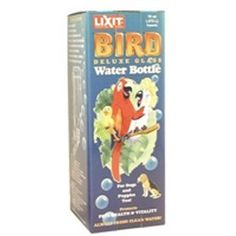 Lixit Glass Bird Water Bottle Medium Pint *** Click image for more details.Note:It is affiliate link to Amazon.