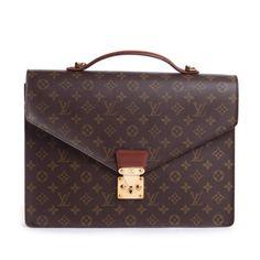 Louis Vuitton Monogram Canvas Briefcase