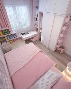 Small apartment bedrooms - 35 wonderful small apartment bedroom design ideas and decor 11 Room Design Bedroom, Small Bedroom Designs, Small Room Design, Room Ideas Bedroom, Home Room Design, Small Room Bedroom, Bedroom Decor, Small Rooms, Small Bed Room Ideas