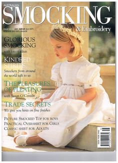 Issue 56 Australian Smocking and Embroidery