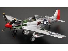 The Tamiya US P-51D Metal Plated Limited Edition in 1/32 scale is a plastic model kit in the Tamiya 1/32 Aircraft range. Item 60322 1/32 scale North American P-51D Mustang has earned the praise of many modelers around the world. This exquisite model is now available as a limited edition version featuring silver-colored plated plastic parts which give the model a beautiful metallic finish.