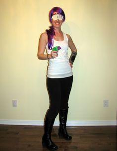 Leela Costume fo Halloween D & Couples Costumes DIY :: Futuramau0027s Leela u0026 Fry | Crafts | Pinterest ...