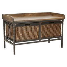 I pinned this Bergen Storage Bench from the Safavieh event at Joss and Main!