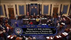 9/29   THE SENATE JUST SMACKED DOWN OBAMA, DELIVERS FIRST PRESIDENTIAL VETO
