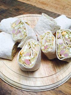 Wraps met eiersalade en vadouvan kruiden recept van receptblog Foodinista