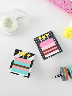 Make 6 /& 6 Envelopes /& 6 Trick-or-Treat Goodie Bags Halloween Greeting Cards DIY Handmade Art Crafts Supplies Set for Kids Girl boy,Party Invitation Card for Friends and Relatives Card Making Kit