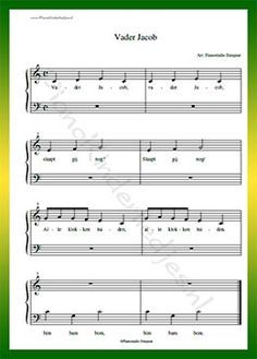 Vader Jacob  - Gratis bladmuziek van kinderliedjes in eenvoudige zetting voor piano. Piano leren spelen met bekende liedjes. Guitar Songs, Guitar Chords, Instruments, Kids Songs, Jaba, Sheet Music, Music Sheets, Childhood Memories, Poems