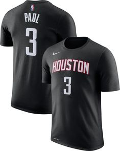 2313b51e9 Nike Youth Houston Rockets Chris Paul  3 Dri-FIT Black T-Shirt