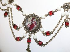 "Items similar to Fairy Jewelry Cameo ""Snow White Fairy"" Vintage Renaissance Style Statement Cameo Necklace on Etsy Unique Necklaces, Unique Jewelry, Jewelry Ideas, Cameo Necklace, Pendant Necklace, Fairy Jewelry, Renaissance Fashion, Fashion Necklace, Antique Brass"