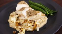 Chicken with Roasted Cauliflower & Cannellini Bean Puree @ Everyday Gourmet with Justine Schofeild