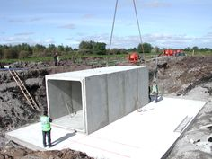 Precast box culverts | Precast concrete box culverts | Bancrete UK | Bancrete