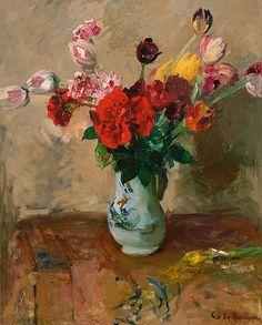 Coba Ritsema - Spring Flowers in a Vase - 1937