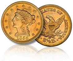 1855 American Double Eagle