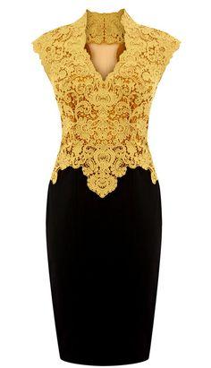 Karen-Millen-Beautiful-Cotton-Lace-Pencil-Dress