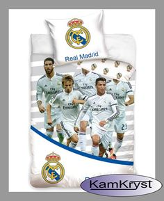 Kolejna nowość w sklepie - pościel z piłkarzami Realu Madryt