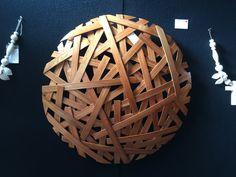 Jamie Adamson artist - steam bent Rimu
