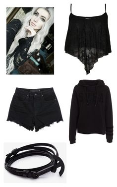 """""""How to cosplay as Sasha from Minecraft Diaries"""" by atang-1 on Polyvore featuring T By Alexander Wang, WearAll, women's clothing, women, female, woman, misses and juniors"""