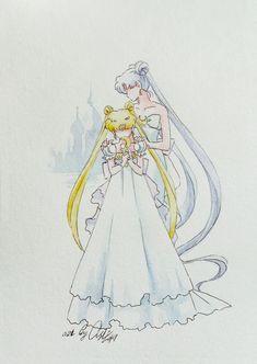 Художественные работы/by ASH/Anime art's photos Sailor Moom, Arte Sailor Moon, Sailor Moon Manga, Sailor Neptune, Sailor Uranus, Sailor Moon Background, Sailor Moon Wallpaper, Princesa Serenity, Neo Queen Serenity