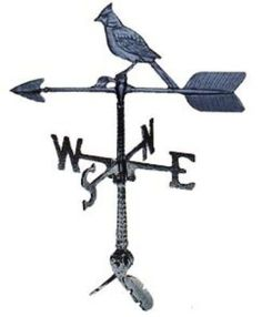 """Weathervanes - Cardinal 24"""" Inch Made in USA"""