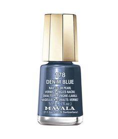 Esmalte De Uñas Mavala Mini Denim Blue 178