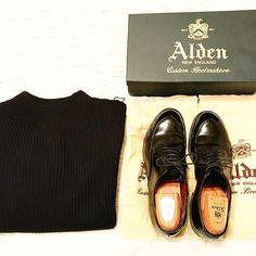 y_n08 ANDERSEN-ANDERSEN & Alden ✨  #alden #aldenshoes  #footwear #knit  #andersenandersen  #madeinusa  #mensfashion  #mensstyle  #menswear #instafashion #instagood  #fashion #fashionblogger  #fashionista  #置き画 #置き画くら部  #オールデン #アンデルセンアンデルセン  #ニット #お洒落 #おしゃれ #革靴 2016/12/27 21:22:05